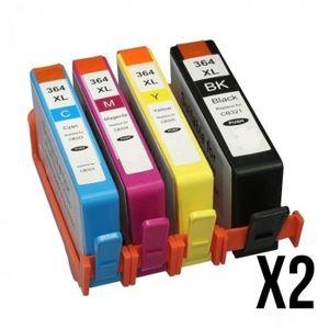 Pack 10 Cartouche générique compatible CANON PGI550 CLI551 XL