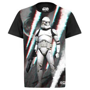 T-SHIRT T-shirt Homme Star Wars Stormtrooper 3D