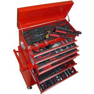 DESSERTE CHANTIER Servante d'Atelier Chariot à outils avec outils Ar