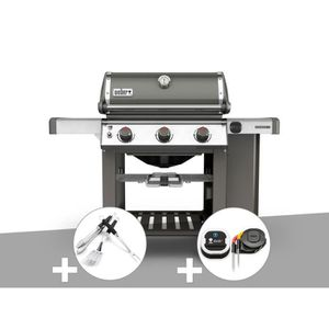 BARBECUE Barbecue gaz Weber Genesis II E-310 GBS Gris + Kit