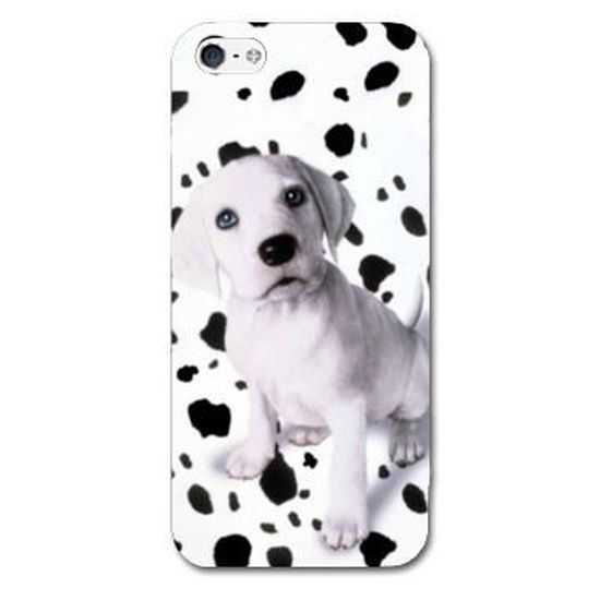 coque iphone 8 dalmatien