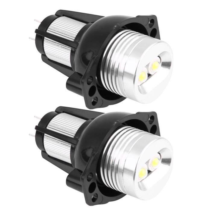 2pcs 12W LED Angel Eyes Halo Anneau Marqueur pour BMW E90 E91 05-08 Lampes Auto