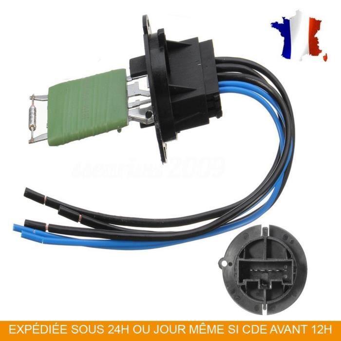 RESISTANCE DE CHAUFFAGE + cable PEUGEOT CITROEN 206/307/XSARA PICASSO/C3 6450JP