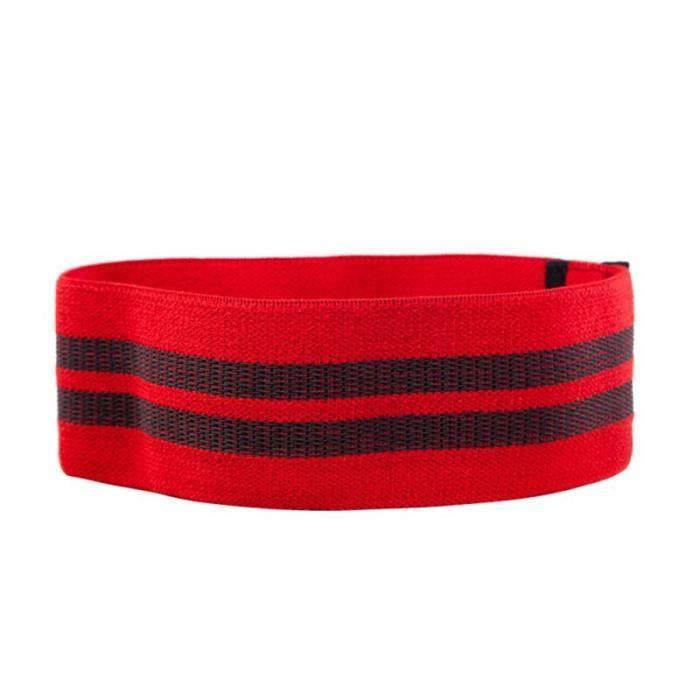 Bandes de résistance de Yoga bande élastique de hanche-cou bande de résistance Squat Yoga Fitness a - Modèle: red S - HSJSTLDC02933