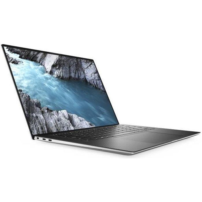 DELL XPS 15 9500 - PC Portable Core i7 10750H / 2.6 GHz - Win 10 Pro 64 bits - 16 Go RAM