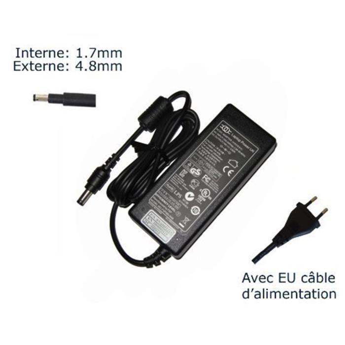 AC Adaptateur secteur pour HP Envy 4-1035SG 4-1162SF 4-1162 4-1250SF 4-1260EF chargeur ordinateur portable, adaptateur