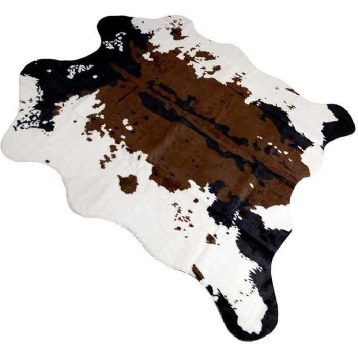 Tapis de sol Imitation peau de Vache Tapis pour décoration maison