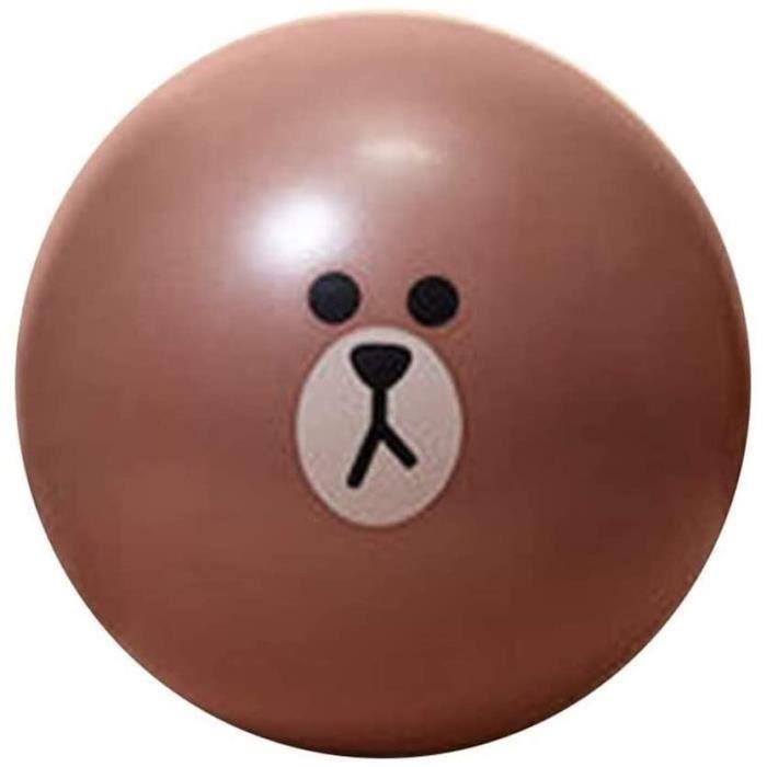 GYM BALL cice Balle de gymnastique 65cm AntiBurst Cartoon ballon suisse Convient for Home Gym Chaise de bureau avec pompe Accouc1213