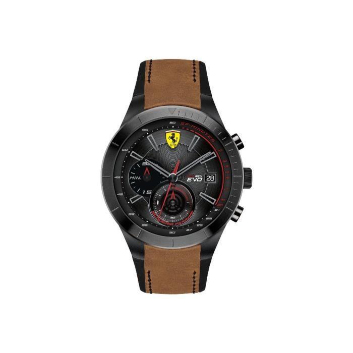 Ferrari - Mod. 830398 - Homme - Quartz - Chronographe - Analogue