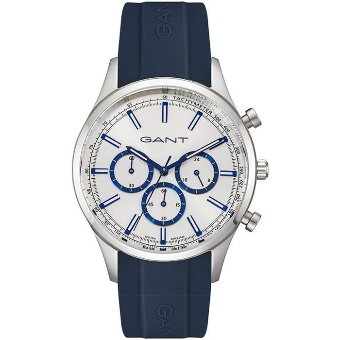 Gant GTAD09100299I Watch Mens Silver Chronographe RIDGEFIELD