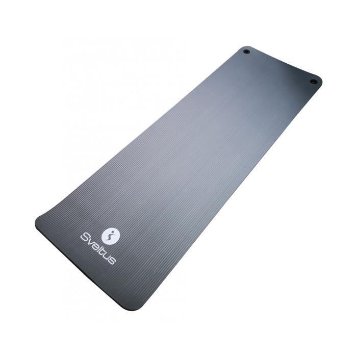 Sveltus tapis d'entraînement 180 x 60 cm PVC gris