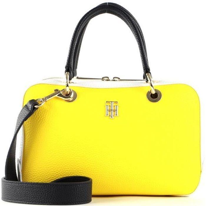 TOMMY HILFIGER TH Essence Medium Duffle Bag Vivid Yellow [118285]