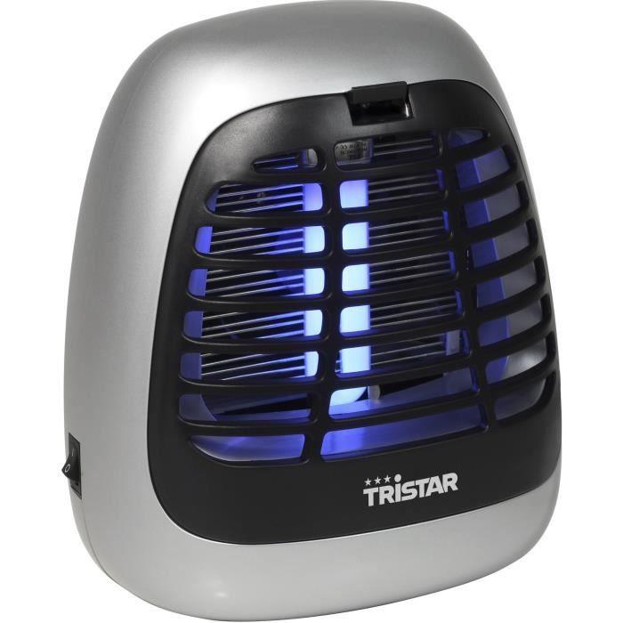 TRISTAR IV-2620 Désinsectiseur - 15 watts - Souffleur incorporé - Gris
