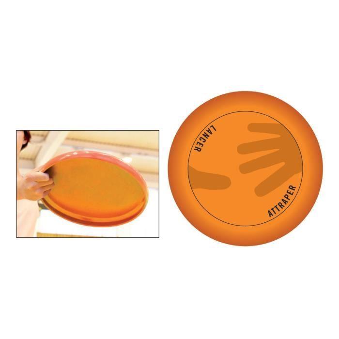 Disque volant 125 gr - Orange fluo