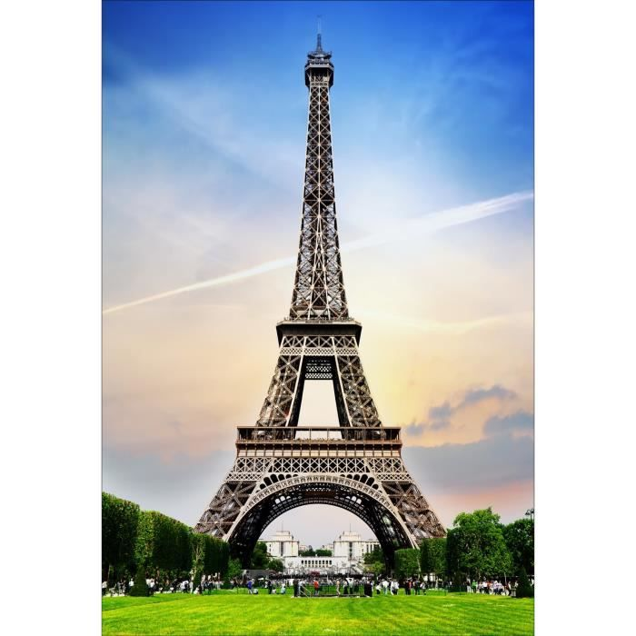 Stickers muraux d co tour eiffel dimensions 170x250cm achat vente sti - Tour eiffel dimension ...