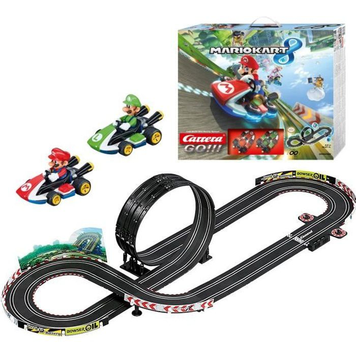 stadlbauer circuit carrera go mario kart 8 l 39 chelle 1 43 achat vente circuit. Black Bedroom Furniture Sets. Home Design Ideas