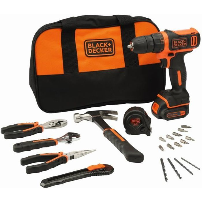 PERCEUSE BLACK & DECKER Perceuse visseuse sans fil 10,8 V a