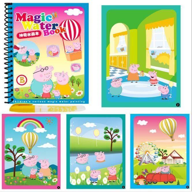 A4359 Dessin Anime Coloriage Magique Dessin A Leau Livre With1 Stylo Reutilisable Peinture Livre Enfants Doodle Ecrire Coloriage Liv Achat Vente Livre De Coloriage Cdiscount