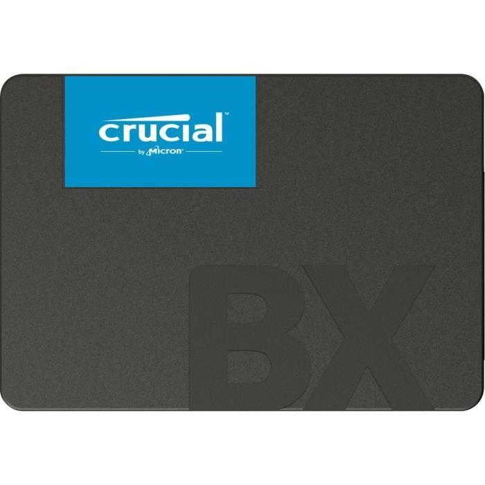 """DISQUE DUR SSD Crucial BX500, 240 Go, 2.5"""", Série ATA III, 540 Mo"""