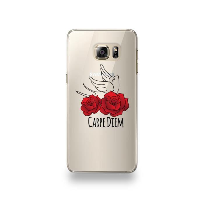 Coque Samsung Galaxy S6 Edge Plus Silicone motif C