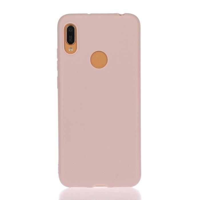Coque HUAWEI Y6 2019,Violet Haute qualité Couleur