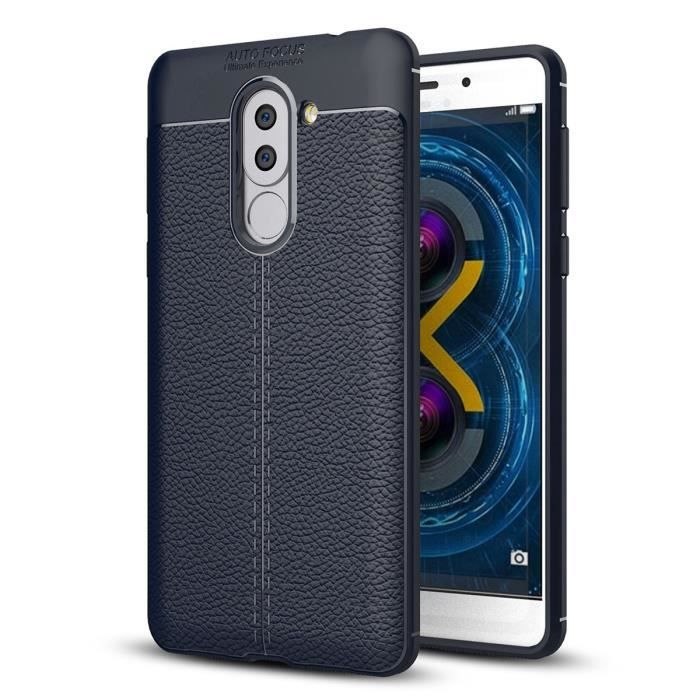 "HOUSSE DE CHAISE Huawei Honor 6X 5.5"" Coque Ultra-Léger TPU Silicon"