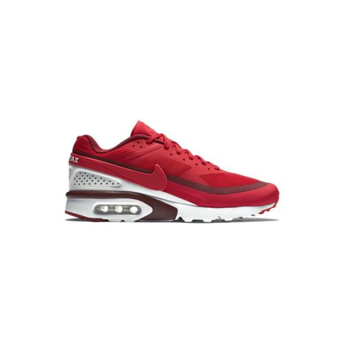 NIKE AIR MAX BW ULTRA Rouge - Achat / Vente basket - Cdiscount