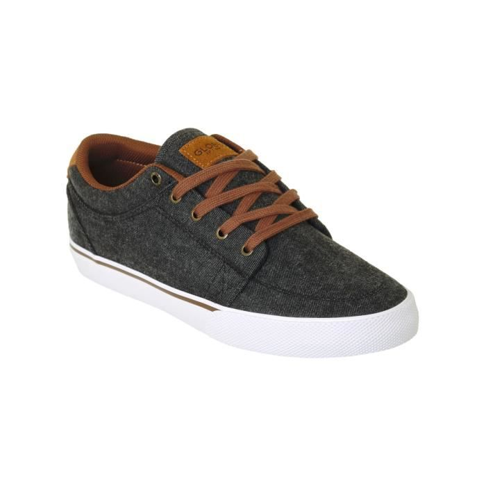 Washed Toffee Chaussure Gris GS Globe wYTTxqS6a