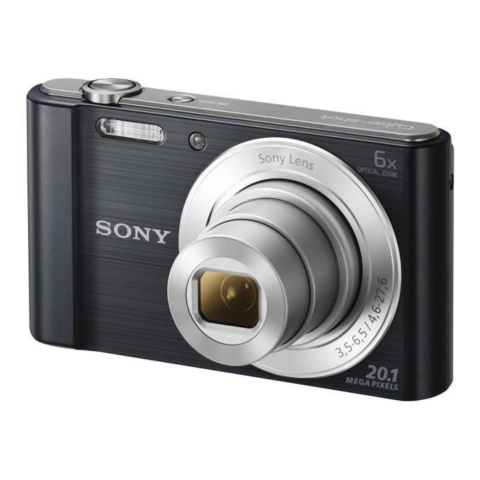 PACK APPAREIL COMPACT Sony Cyber-shot DSC-W810 Appareil photo numérique