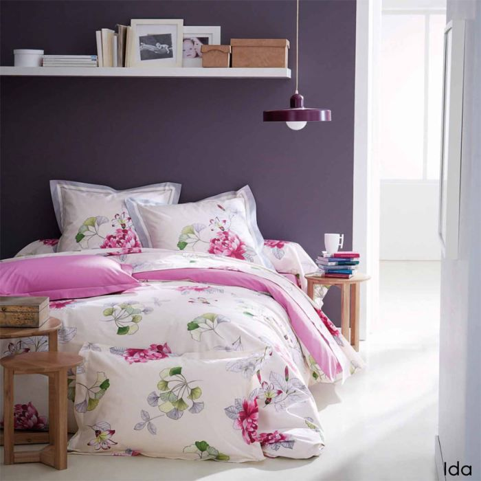 parure housse de couette 3p ida lit 160 achat vente. Black Bedroom Furniture Sets. Home Design Ideas
