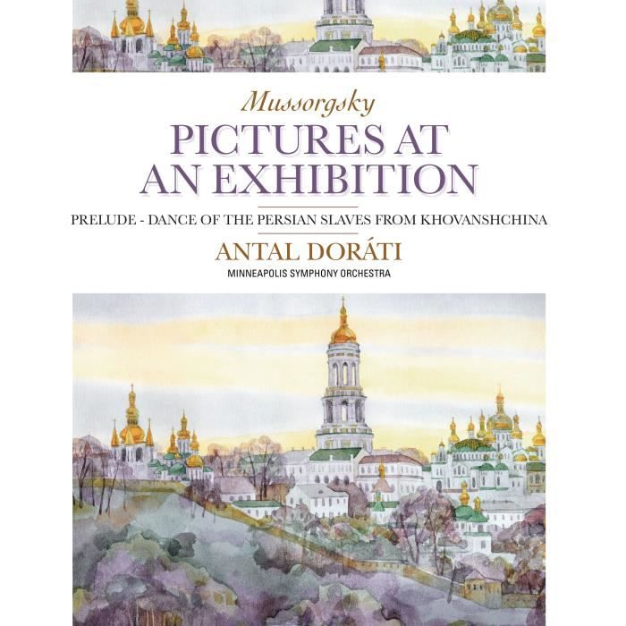 M. MUSSORGSKY Pictures at an Exhibition - 33 Tours - 180 grammes ... bcea118c72f