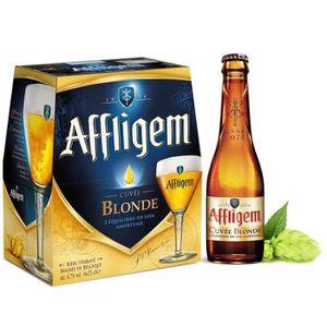 BIÈRE Bière blonde d'Abbaye 6,7% 6x0,25l Affligem Cuvée