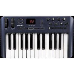 CLAVIER MUSICAL M-Audio Contrôleur MIDI USB Oxygen 25
