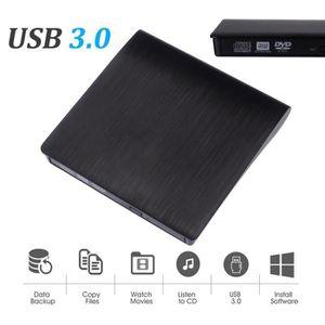 LECTEUR - GRAVEUR EXT. USB 3.0 Lecteur DVD externe CD haute vitesse de tr