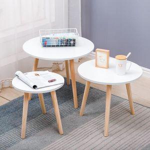 TABLE BASSE   Table Gigogne Set De 3 Table Basse ,Table Basses