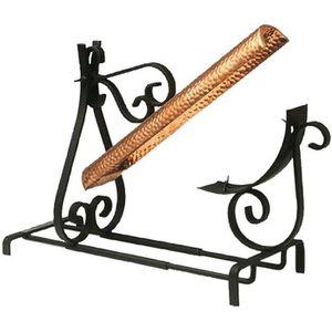 APPAREIL À RACLETTE Grill à raclette traditionnel - fer forgé et cuivr