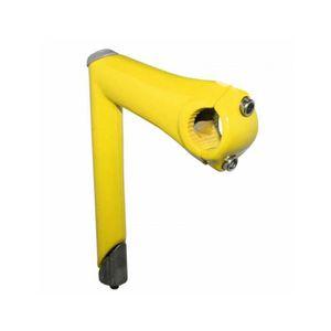 POTENCE DE VÉLO Potence route-fixie colors a plongeur 22,2 jaune l