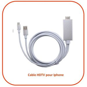 cable hdmi pour ipad prix pas cher cdiscount. Black Bedroom Furniture Sets. Home Design Ideas