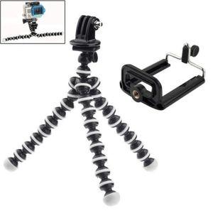 PACK ACCESSOIRES PHOTO Kit d'accessoire GoPro Trépied flexible 2 en 1 ave