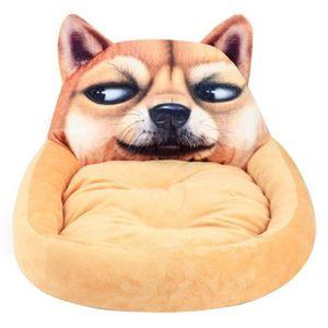 CORBEILLE - COUSSIN Lit de chien doux lavable dessin animé Animal chie