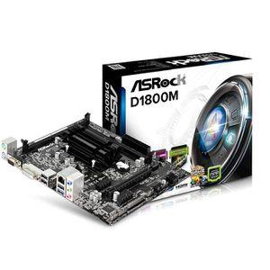 CARTE MÈRE ASRock D1800M Carte mère Intel Celeron J1800 ATX S