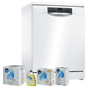 LAVE-VAISSELLE BOSCH Lave-vaisselle posable Blanc 12couverts 6 pr