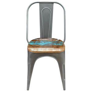 CHAISE Homgeek Lot de 6 Chaises de salle à manger Style I