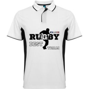 POLO POLO BICOLOR RUGBY WORLD CHAMPIONSHIP FRANCE TMP49