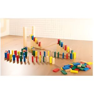 DOMINOS Kit de dominos colorés 263 pièces