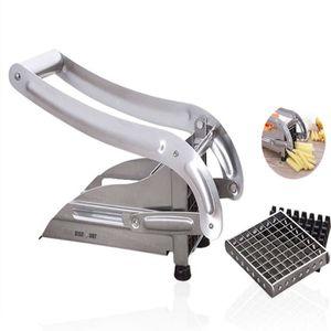 MANDOLINE DE CUISINE TD® Coupe-frites machine inox pro lames trancheuse