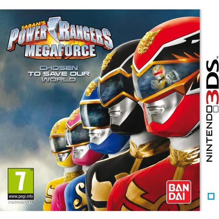 power rangers samurai mega force jeu 3ds achat vente jeu 3ds power rangers samurai 2ds 3ds. Black Bedroom Furniture Sets. Home Design Ideas