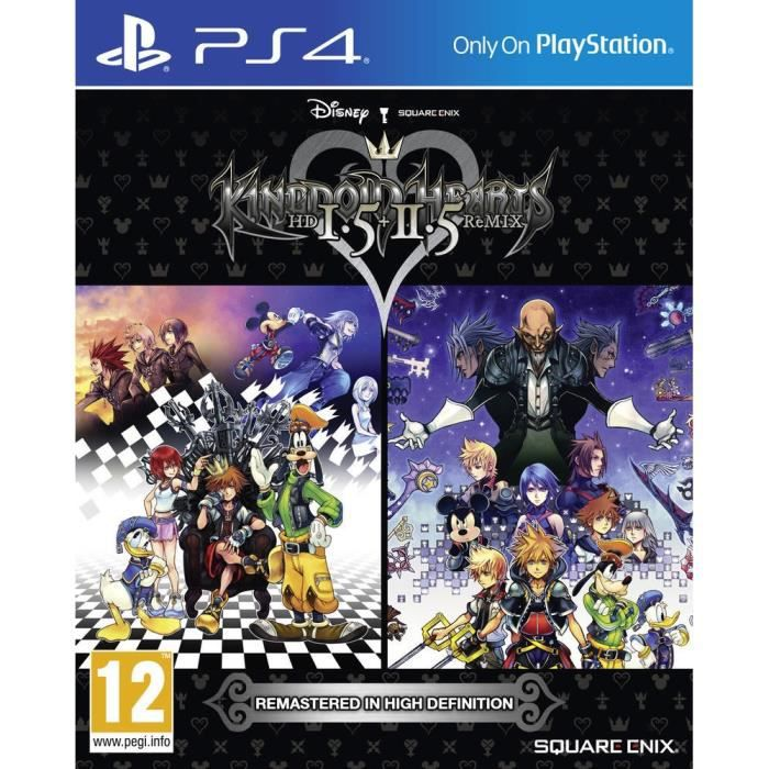 Kingdom Hearts HD 1,5 & 2,5 Remix Jeu PS4