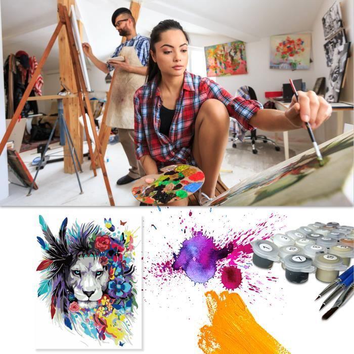 ARDOISE MURALE Peinture bricolage numérique peinture bricolage peinture acrylique décoration de la maison mots de peinture4