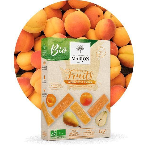 Pâte de fruits jaunes BIO 125g